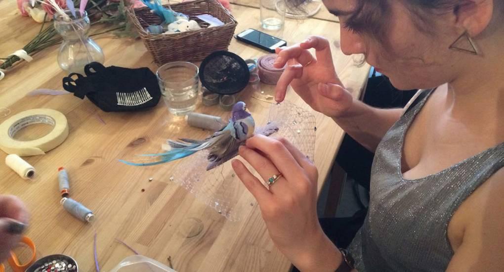 Fascinator Making